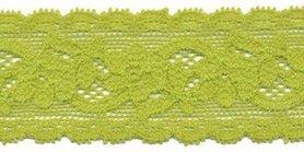 Elastisch kant gifgroen 30 mm (ca. 10 m)