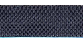 Tassenband 25 mm antraciet (50 m)