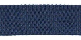 Tassenband 25 mm donker blauw (50 m)