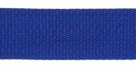 Tassenband 25 mm kobalt blauw (50 m)