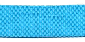 Tassenband 25 mm aqua (50 m)