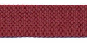 Tassenband 25 mm bordeaux (50 m)