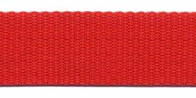 Tassenband 25 mm rood (50 m)