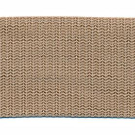 Tassenband 50 mm zand (50 m)
