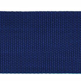 Tassenband 50 mm donker blauw (50 m)