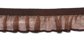 Bruin roezel elastiek 19 mm (ca. 10 meter)