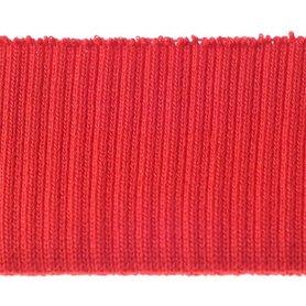 Boord rood effen ca. 30 cm (6 stuks)