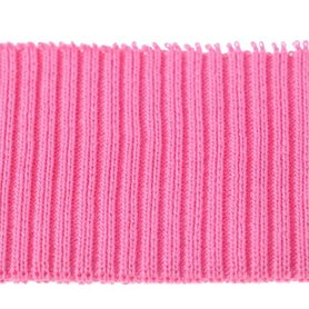 Boord roze effen ca. 55 cm (6 stuks)