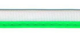 Reflecterende piping-/paspelband NEON groen - 2 mm koord (ca. 25 meter)