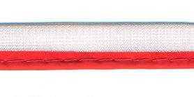 Reflecterende piping-/paspelband koraal - 2 mm koord (ca. 25 meter)