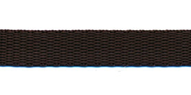 Tassenband 13 mm bruin (50 m)