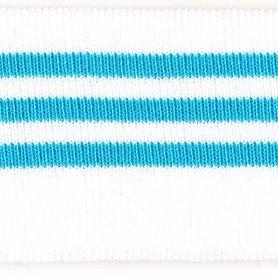 Boord blauw-wit gestreept ca. 62 cm (6 stuks)