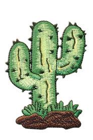 Opstrijkbare applicatie cactus in het wild (5 stuks)