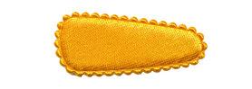 Haarkniphoesje satijn warm geel 3 cm (ca. 100 stuks)