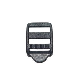 Laddergesp zwart kunststof 13 mm (ca. 100 stuks)