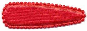 Haarkniphoesje satijn rood 5 cm (ca. 100 stuks)