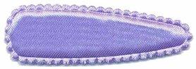 Haarkniphoesje satijn lila 5 cm (ca. 100 stuks)