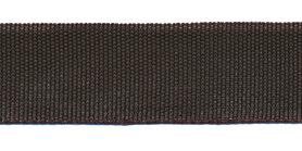 Biesband ca. 22 mm donker bruin (100 m)