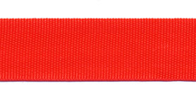 Biesband ca. 22 mm rood (100 m)