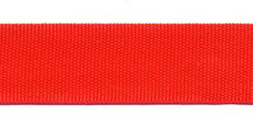 Biesband ca. 22 mm rood (100 m)