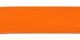 Biesband ca. 22 mm oranje (100 m)