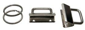 B-KEUZE - Sleutelhangerklem met sleutelring 32 mm (ca. 25 stuks)