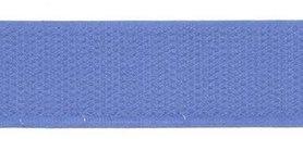 Klittenband 25 mm licht blauw (ca. 18 m)