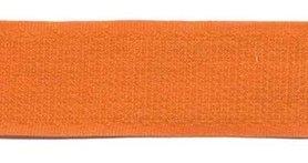 Klittenband 25 mm oranje (ca. 18 m)
