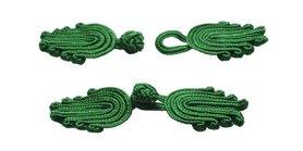 Chinese sluiting donker groen ca.  70 x 20 mm (ca. 25 stuks)