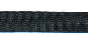 Zwart BUDGET elastiek ca. 15 mm (100 m)