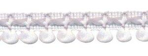 2-kleurig lusjesband wit-licht grijs 15 mm (ca. 16 meter)