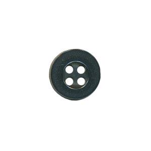 Knoop met 4 gaten zwart 10 mm (ca. 100 stuks)