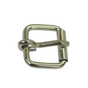 Metalen riem gesp zilverkleurig 30 mm (5 stuks)
