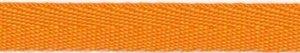 Oranje keperband 10 mm (ca. 25 m)