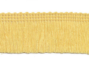 Franjeband custard geel ca. 30 mm (ca. 22 meter)