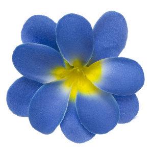 Zomerse bloem blauw ca. 7 cm (10 stuks)