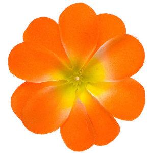 Zomerse bloem oranje ca. 7 cm (10 stuks)