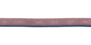 Satijnkoord licht-elastisch taupe 4x2 mm (ca. 10 m)