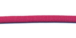 Satijnkoord licht-elastisch cyclaam 4x2 mm (ca. 10 m)