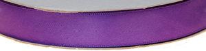 Paars dubbelzijdig satijnband 15 mm (ca. 30 m)