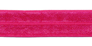 Fuchsia #005 elastisch biaisband 20 mm (ca. 25 m)