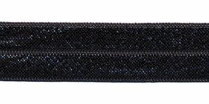 Donker grijs #096 elastisch biaisband 20 mm (ca. 25 m)