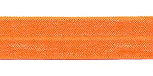 NEON oranje #117 elastisch biaisband 20 mm (ca. 25 m)