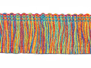 Multicolor franjeband ca. 30 mm (ca. 16 meter)