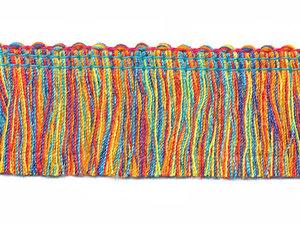 Multicolor franjeband ca. 30 mm (ca. 16 meter)