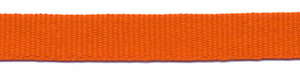 Oranje grosgrainband 10 mm (ca. 25 m)