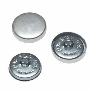 Stofknoop met oog 22 mm (ca. 100 stuks)