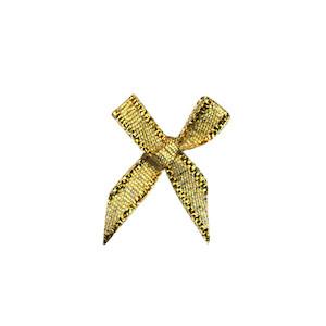 Strikje goud 18 x 18 mm (ca. 25 stuks)