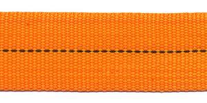 TUNNELband 25 mm oranje (ca. 5 m)