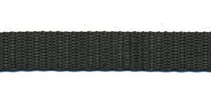 Tassenband 13 mm zwart (50 m)